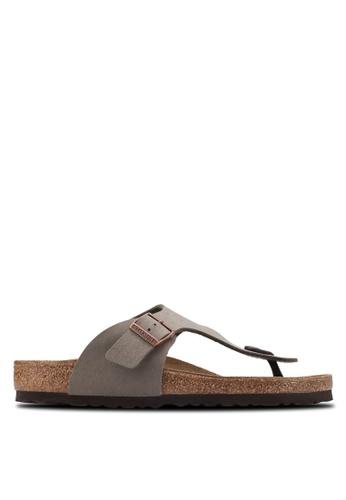 Birkenstock grey Ramses Sandals BI090SH47HNWMY_1