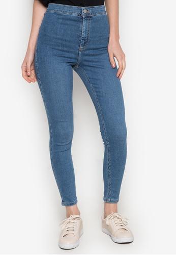 TOPSHOP blue Moto Blue Joni Jeans TO099AA0JE8RPH_1