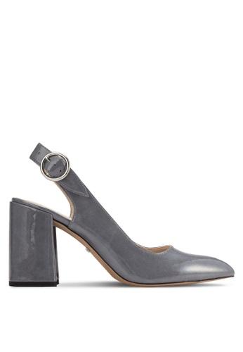 TOPSHOP grey Graduate Slingback Shoes TO412SH61VTIMY_1