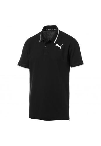 puma black Modern Sports Men's Polo Shirt 6EA63AA8BFC05BGS_1