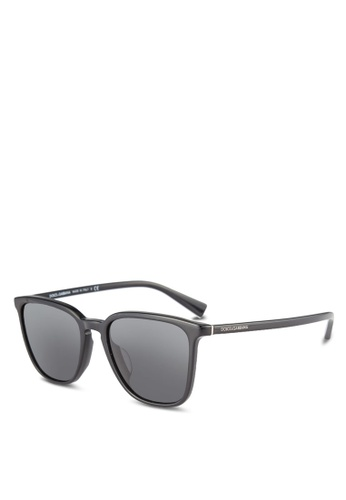 Dolce & Gabbana black Grey DG4301F Sunglasses DO384GL0RNI5MY_1