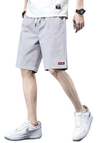 Trendyshop grey Skinny Casual Pants C1306AA8721C30GS_1