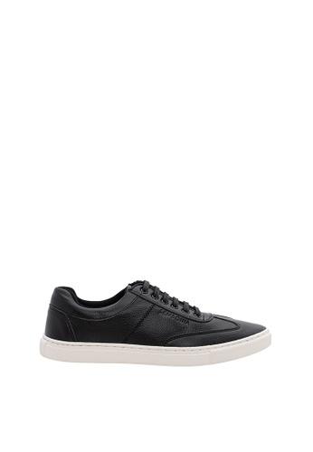 SEMBONIA black Men Synthetic Leather Sneaker E502ESH98FC39BGS_1