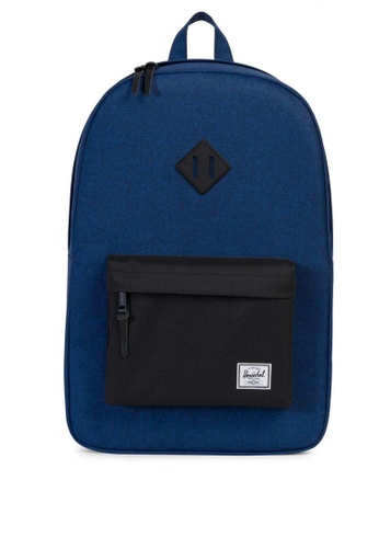Herschel blue Heritage Backpack HE958AC0KA47PH_1