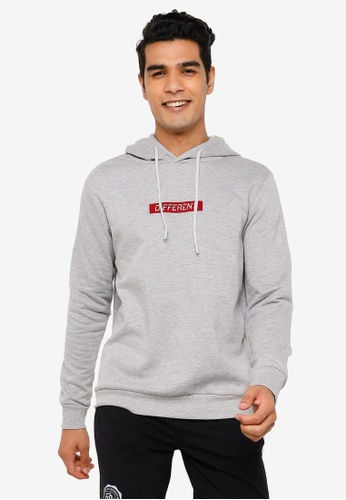 KOTON grey Embroidery Detail Sweatshirt 4442CAA5F35E86GS_1