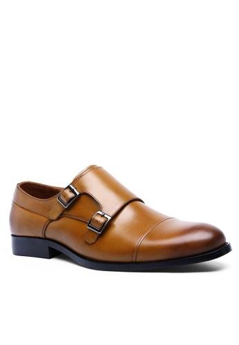 Twenty Eight Shoes Galliano復古真皮孟克皮鞋 6718 313BESH990605DGS_1