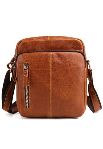 Twenty Eight Shoes Handmade Vintage Leather Sling Bag 6421 F5E06ACE703FA5GS_1