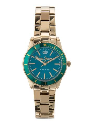 R2353102esprit 內衣502 Carrie 不銹鋼女性圓錶, 錶類, 飾品配件