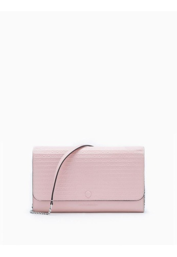 81a7b64604f Buy Calvin Klein All-Over Logo Wallet With Chain Online on ZALORA Singapore