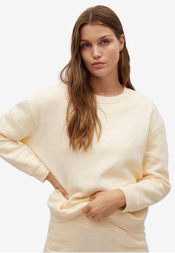 Mango beige Cotton Pyjamas Sweatshirt E1E40AA0FB0187GS_1