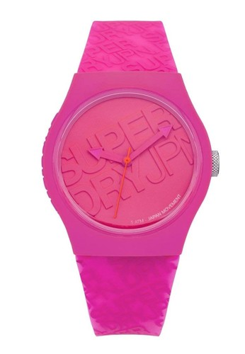 Superdry Watch pink Superdry Jam Tangan - Pink - Rubber - SYL169P 7A4FEAC2757BEBGS_1
