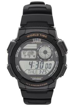 Digital Watch AE-1000W-1AVDF