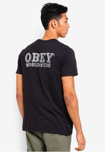 OBEY black Patch It Up Tee A1F72AAC629FEAGS_1