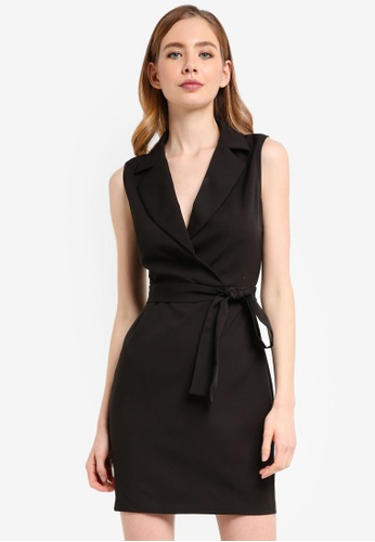ZALORA black Formal Lapel Dress 50ABCAA0AB5598GS_1