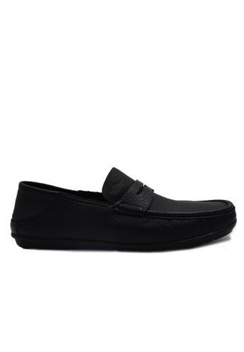 Goldlion black Goldlion Premium Loafer Shoes in Black (HSH206DR92B-99) 7377DSHAF15952GS_1