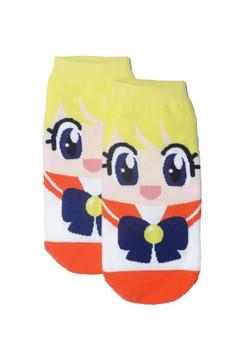 Sunny Sailor Orange Socks