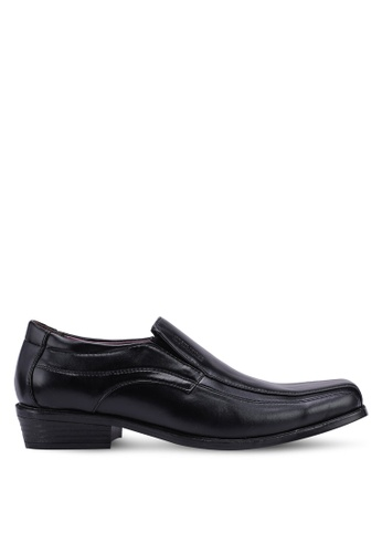Rocklander black Slip On Formal Shoes DD024SH65D49DBGS_1