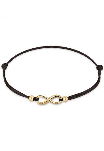 Elli Germany gold Gold Plated Infinity Bracelet EL474AC0RFHAMY_1