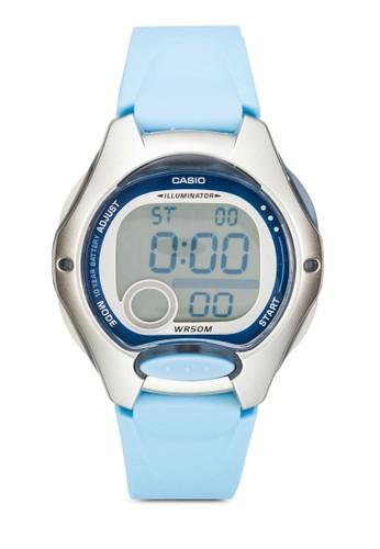 Core esprit官網運動風樹脂石英電子手錶, 錶類, 飾品配件