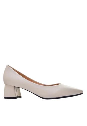 Twenty Eight Shoes 4.5CM尖頭羊紋高踭鞋 999-21 8D9DASH939271AGS_1