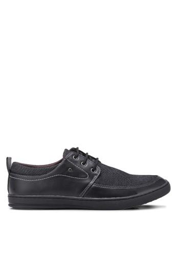 Rocklander black Rocklander Smart Casual Shoes RO753SH0UYFVID_1
