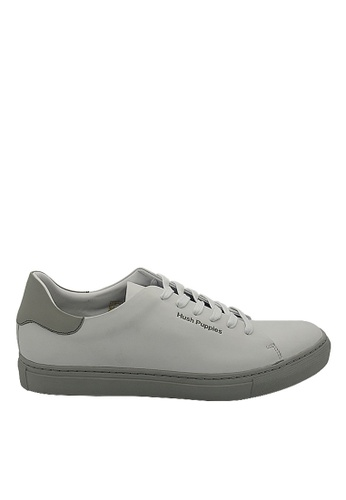 Hush Puppies grey Hush Puppies Kenneth Sneaker In Grey B5272SH213E78DGS_1