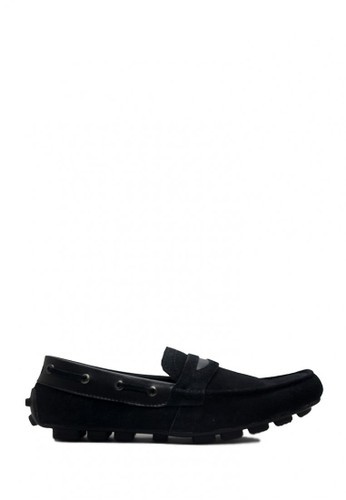 D-Island black D-Island Shoes Moccasin Slip On Genuine Leather Black DI594SH0VX8OID_1