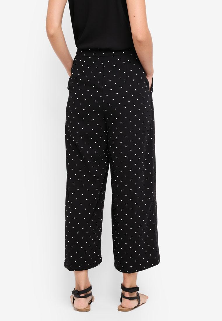 Selfridge Wide Spot Pants Miss Black Crop Leg AOvPnn1qw