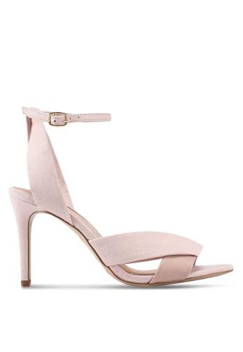 Miss Selfridge 粉紅色 繞帶高跟鞋 D4EC2SHCA330BDGS_1