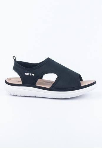 Twenty Eight Shoes black Prefect fit sandals B3EE0SH00F6857GS_1