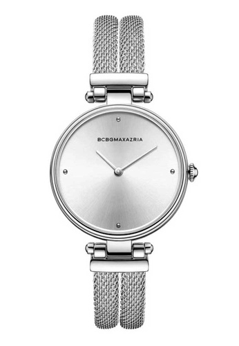 BCBG silver BCBGMAXAZRIA BG50672003 Silver Stainless Steel Watch D6415AC63395A9GS_1