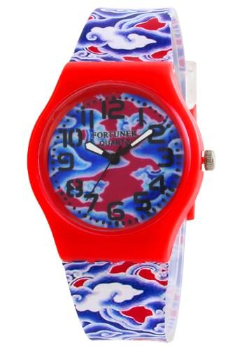 Fortuner Jam Tangan Wanita K JA-842 RED - Merah