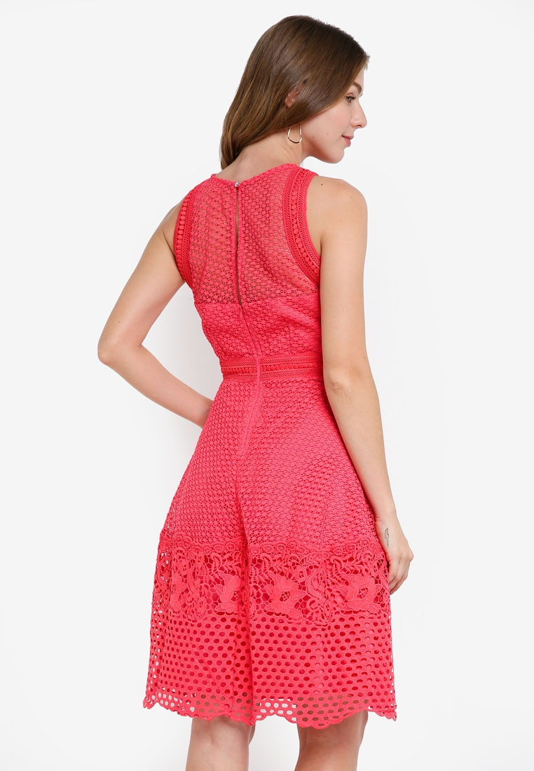 Dress Crochet Dress Mistress Little Crochet Little Coral qt58rt