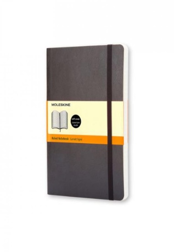 Moleskine black Classic Notebooks Ruled Soft Black Pocket B96BFHL82A6AFFGS_1