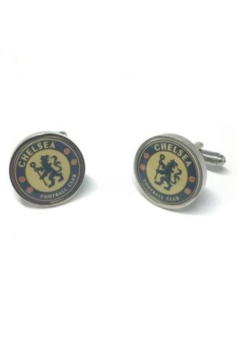 Splice Cufflinks blue Chelsea Cufflinks SP744AC46FRXSG_1