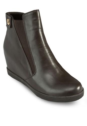 Galo 內增高靴子, esprit台灣官網女鞋, 俏皮男孩風