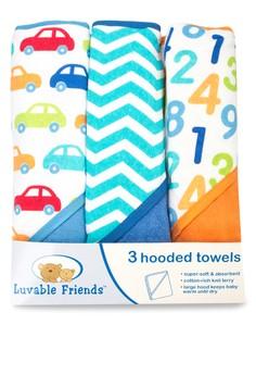 Luvable Friends 3pcs. Recieving Blanket