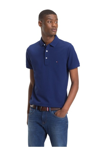 Tommy Hilfiger blue TOMMY SLIM POLO 90DCAAAC037B5FGS_1