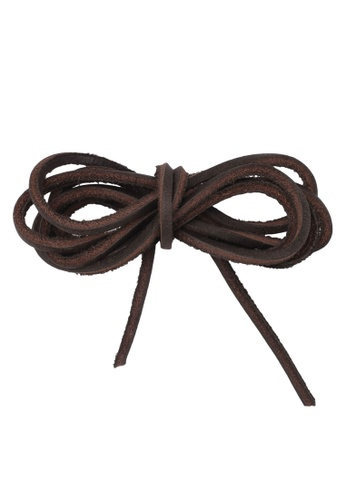 Timberland brown Rawhide Replacement Laces 52 Inch TI063SH0S0TOMY_1