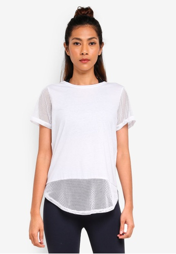 Cotton On Body white Game Set Mesh T-Shirt DF347AAF3988EDGS_1