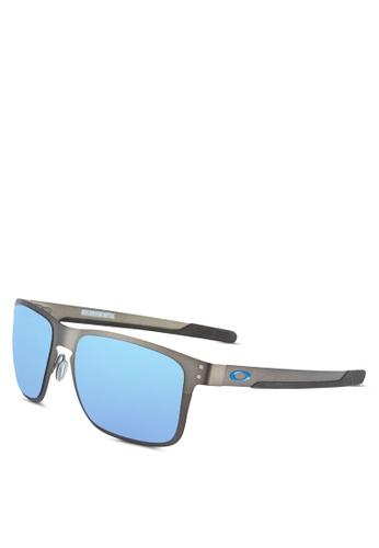d61134bc13 Buy Oakley Performance Lifestyle OO4123 Polarized Sunglasses Online on  ZALORA Singapore