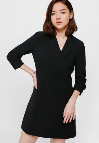 Ted Baker  Botton Strappy Dress in Black 0=US2