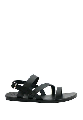 STEFANIA BALDO black Ainsley Sandals ST294SH87OVCID_1