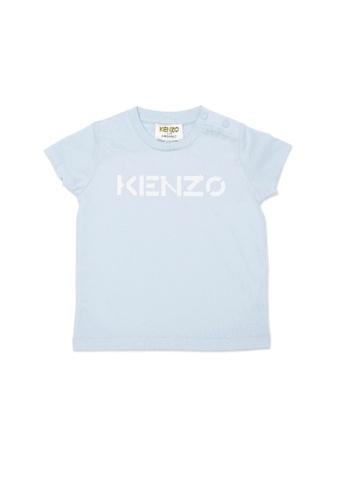 KENZO KIDS blue KENZO BABY BOYS T-SHIRT AE0ABKAB4190CBGS_1