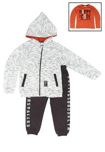 Babybol grey 3 Pieces Kids Set B7153KA9182838GS_1