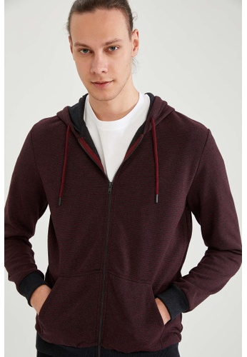 DeFacto red Man Knitted Cardigan 8A3FEAA6EE59C4GS_1