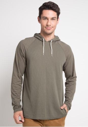 hurley green Atlantic Pop Hood Sweatshirt F1534AA36FCCD1GS_1
