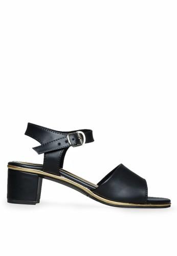 Urban Looks black Ameera Black Heels UR829SH37IHUID_1