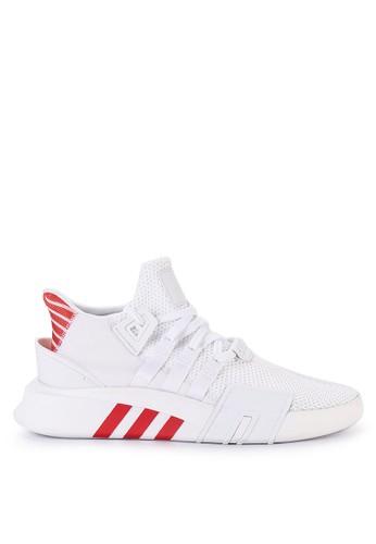 adidas white and multi adidas originals eqt bask adv A6656SH35E472AGS_1