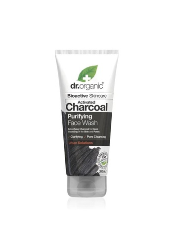 Holland & Barrett Dr Organic Charcoal Face Wash 200ml 99905ESB9D60CAGS_1